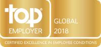 Top employer, global, 2018